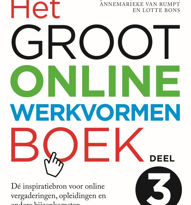 Webinar: Online werkvormen: maak online bijeenkomsten effectief en energiek door Sasja Dirkse en Lotte Bons